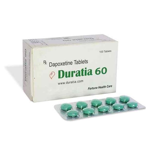DAPOXETINE comprare in Italia, il prezzo di Duratia 60 mg presso la farmacia online happy-outlet.net
