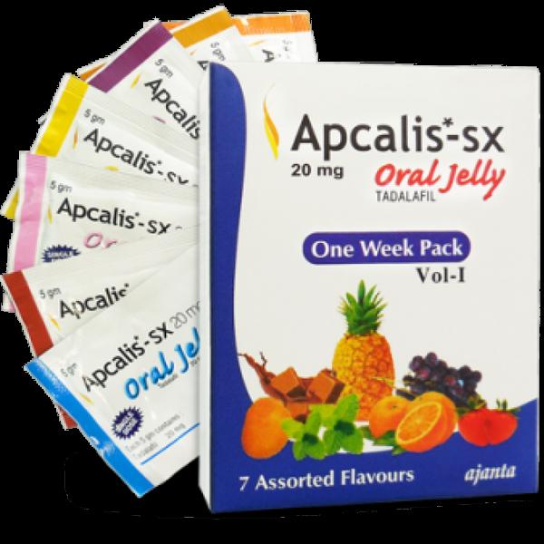 TADALAFIL comprare in Italia, il prezzo di Apcalis SX Oral Jelly 20mg presso la farmacia online happy-outlet.net