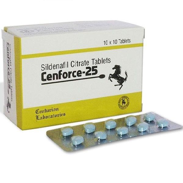 SILDENAFIL comprare in Italia, il prezzo di Cenforce 25 mg presso la farmacia online happy-outlet.net