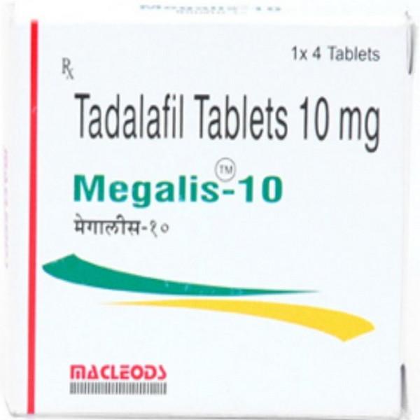 TADALAFIL comprare in Italia, il prezzo di Megalis 10 mg presso la farmacia online happy-outlet.net