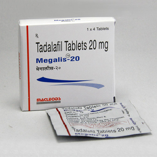 TADALAFIL comprare in Italia, il prezzo di Megalis 20 mg presso la farmacia online happy-outlet.net