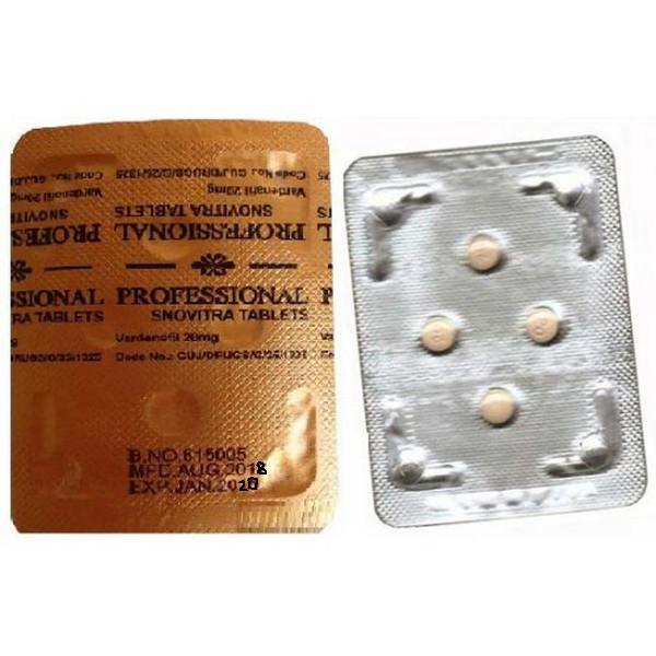 VARDENAFIL comprare in Italia, il prezzo di Snovitra Pro Tab presso la farmacia online happy-outlet.net