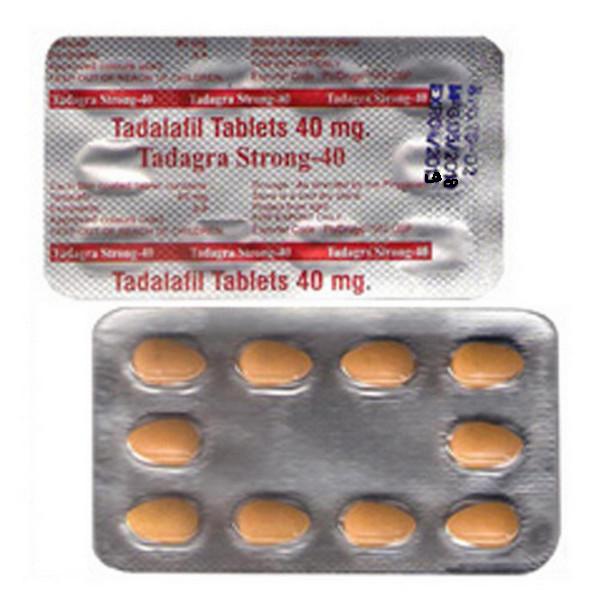 TADALAFIL comprare in Italia, il prezzo di Tadagra Strong 40 mg presso la farmacia online happy-outlet.net