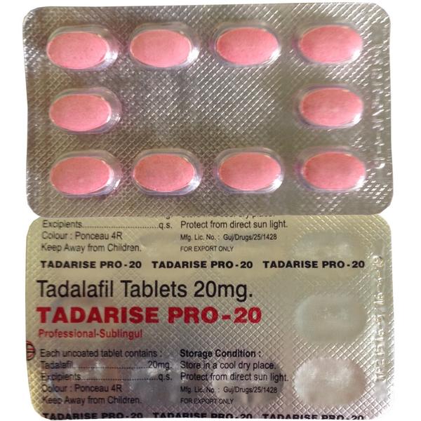 TADALAFIL comprare in Italia, il prezzo di Tadarise Pro 20 presso la farmacia online happy-outlet.net
