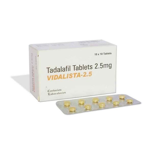 TADALAFIL comprare in Italia, il prezzo di Vidalista 2.5 mg presso la farmacia online happy-outlet.net